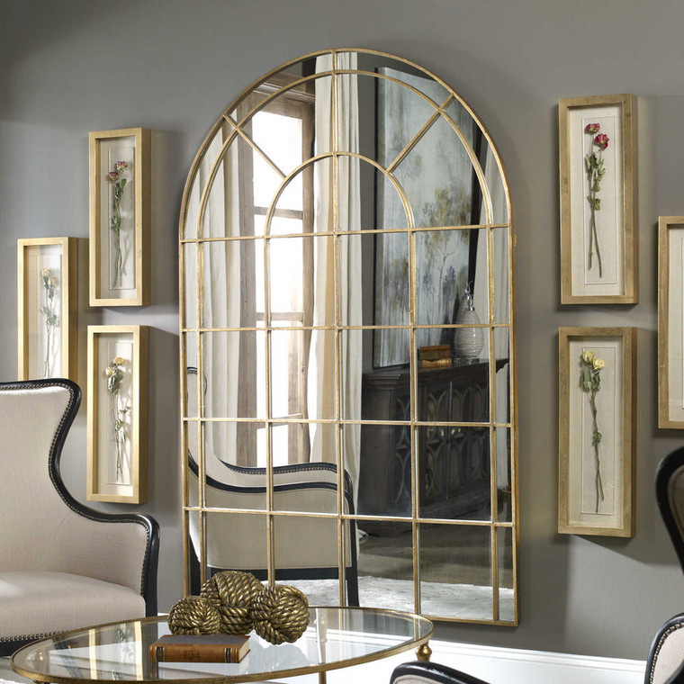 Grantola Arch Mirror by Uttermost