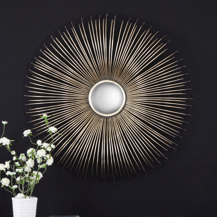 Launa Round Mirror by Uttermost