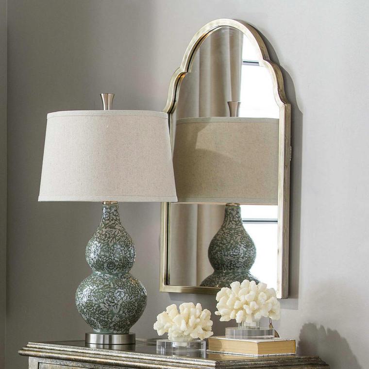 Brayden Petite Arch Mirror by Uttermost