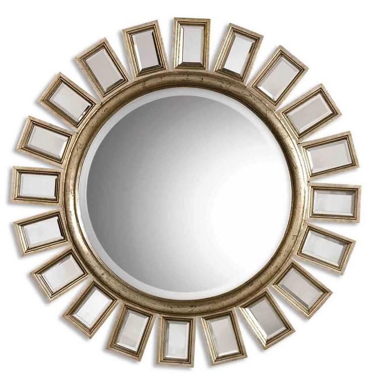 Cyrus Round Mirror by Uttermost
