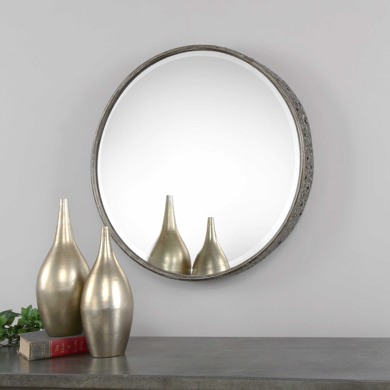 Nova Round Mirror by Uttermost