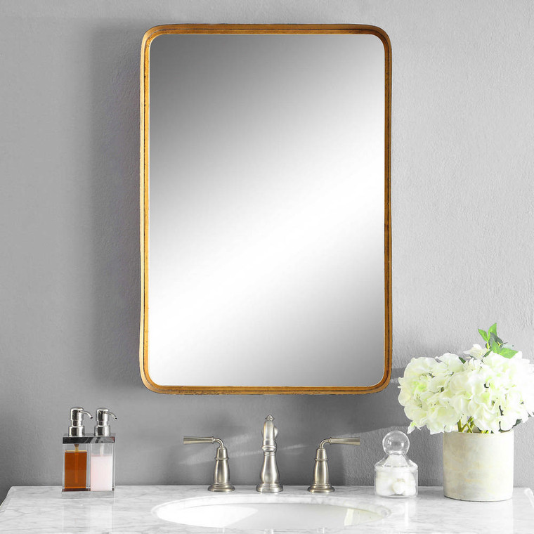 Crofton Vanity Mirror by Uttermost