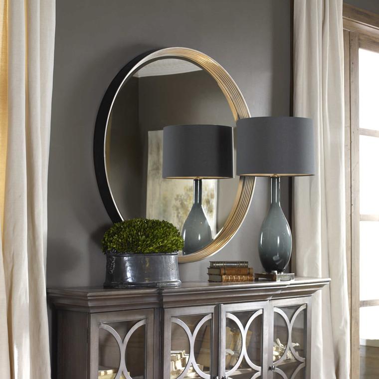 Serenza Round Mirror by Uttermost