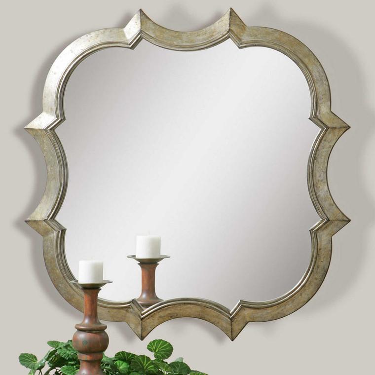Farista Quatrefoil Mirror by Uttermost