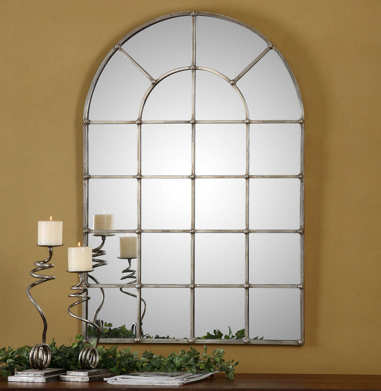 Barwell Arch Mirror by Uttermost
