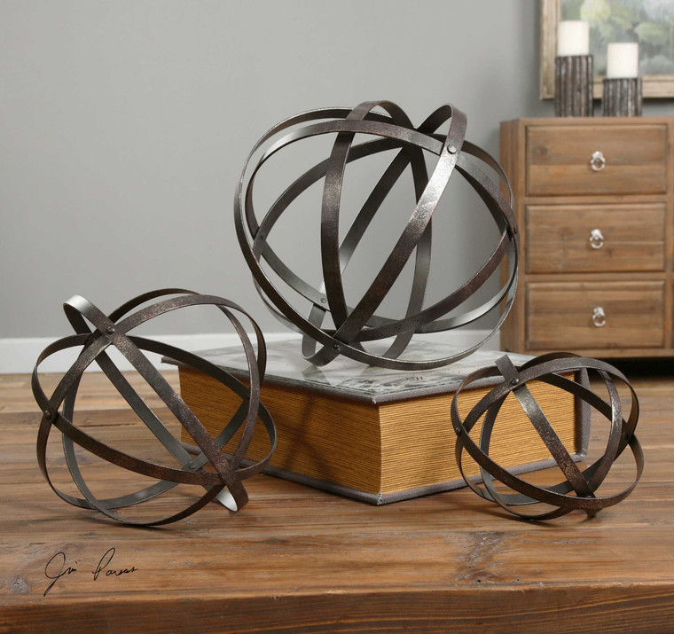 Stetson Spheres S/3 by Uttermost