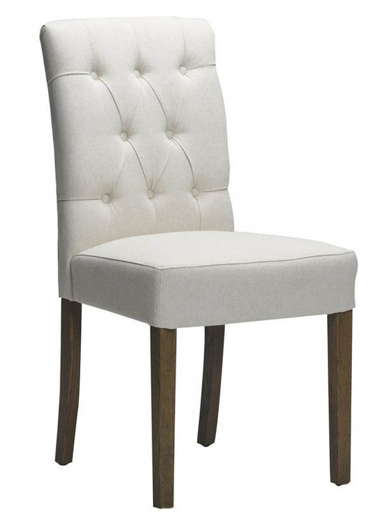 Paris Dining Chair Bisque Fabric by Bella House