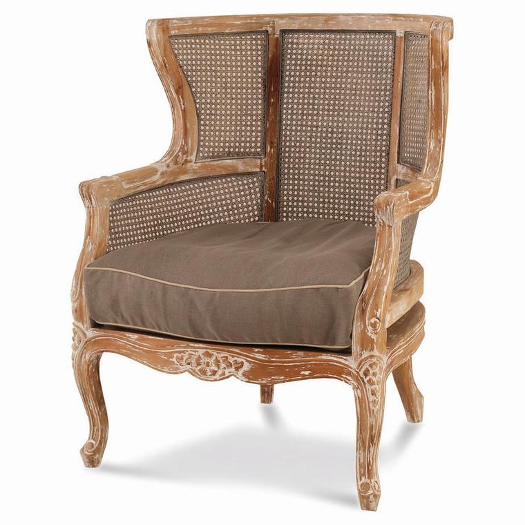 Queen Club Chair - Size: 97H x 79W x 71D (cm)