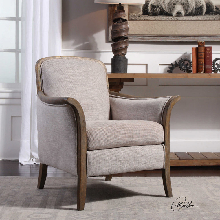 Brittoney Armchair by Uttermost