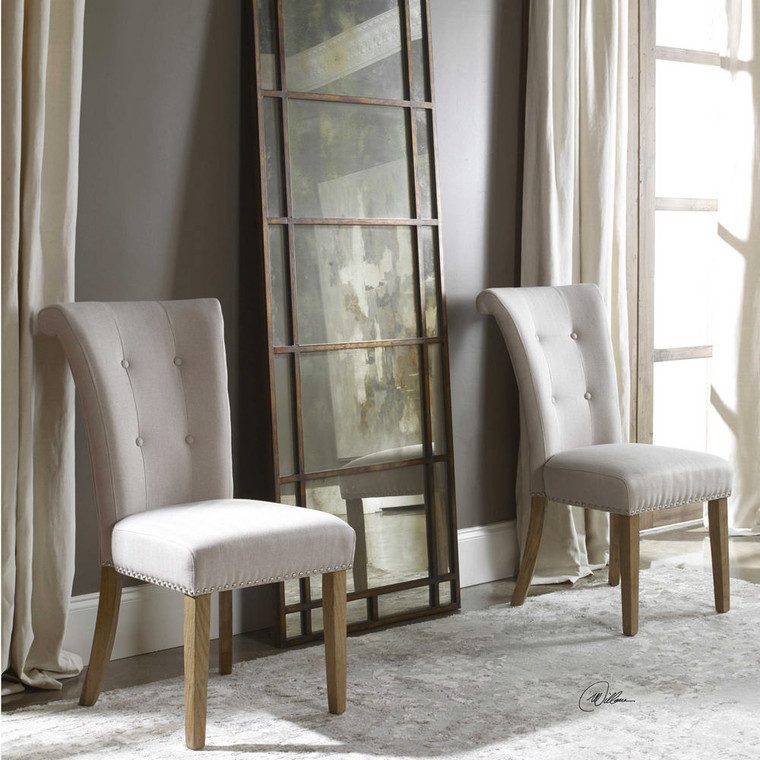 Lucasse Accent Chair by Uttermost