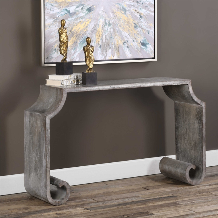 Agathon Console Table - by Uttermost