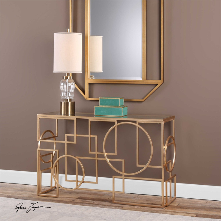 Metria Console Table - by Uttermost