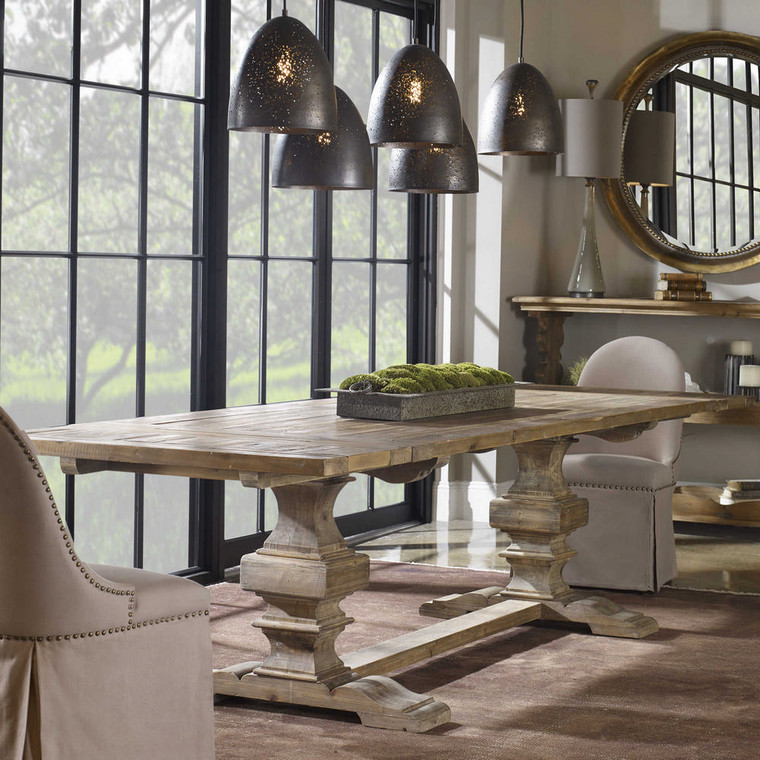 Baldrick Extension Dining Table by Uttermost