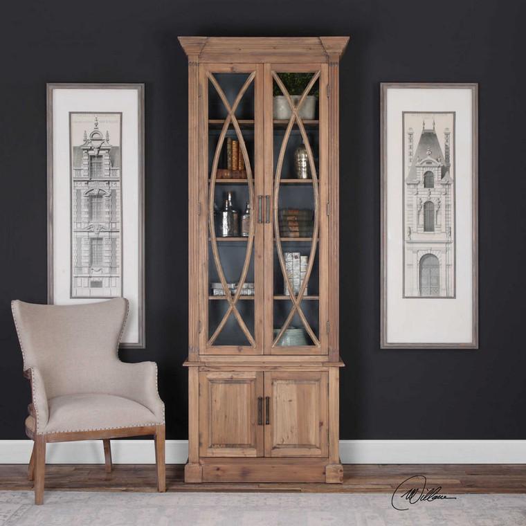 Julen Display Cabinet by Uttermost