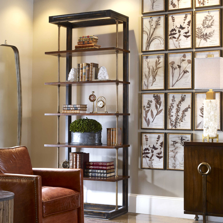 Hatcher Etagere by Uttermost