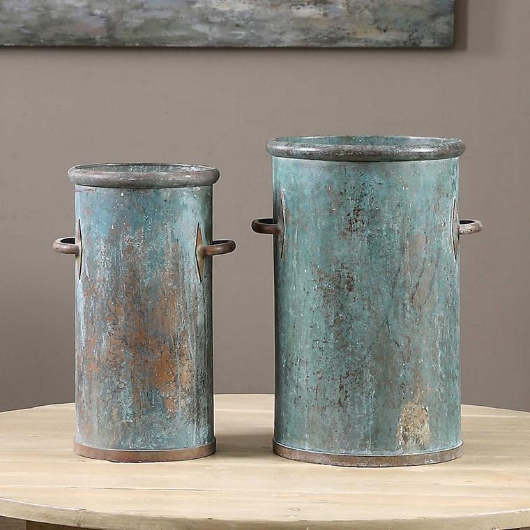 Barnum Vases S/2 by Uttermost