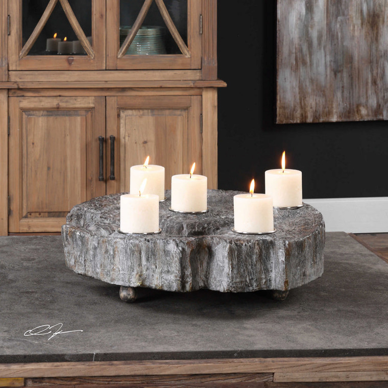 Elwin Candleholder by Uttermost
