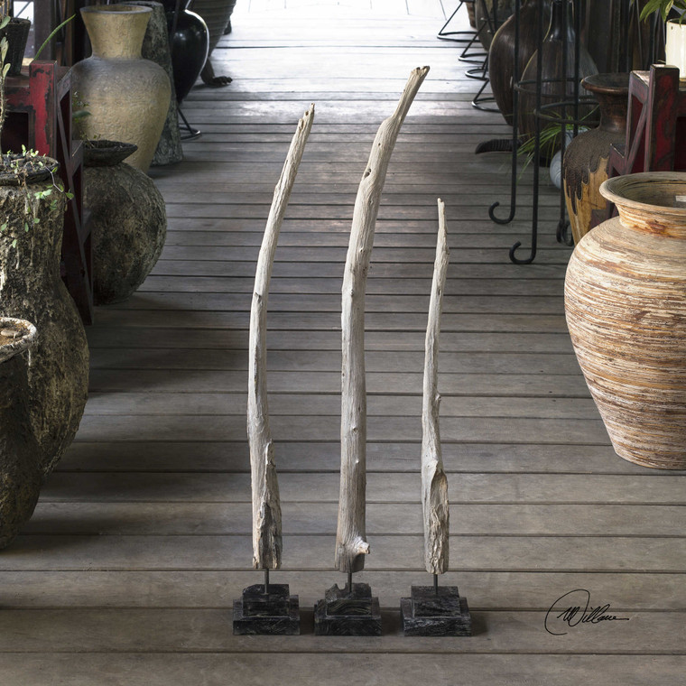 Teak Branches S/3 by Uttermost