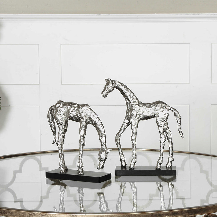 Let's Graze Sculptures S/2 by Uttermost