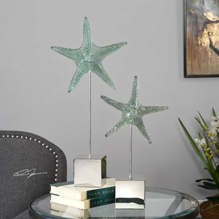 Starfish Sculpture S/2 by Uttermost
