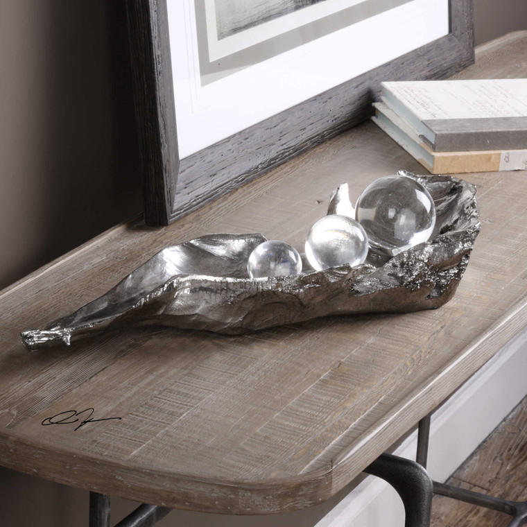 Three Peas in a Pod Sculpture by Uttermost