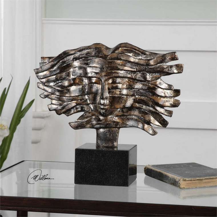Windy Day Sculpture by Uttermost