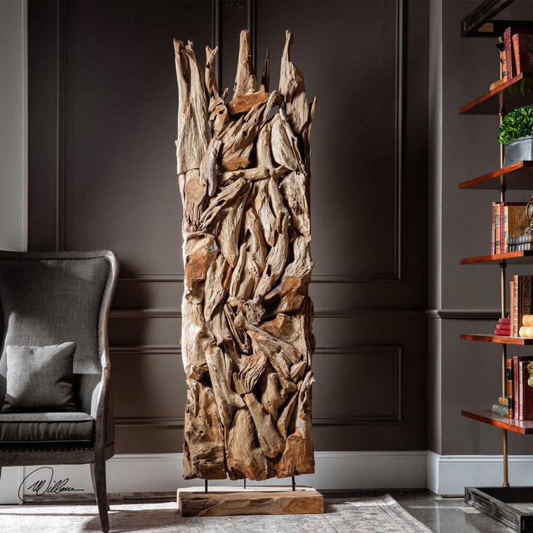 Amzi Floor Sculpture by Uttermost