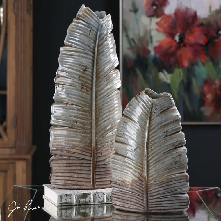 Invano Vases S/2 by Uttermost