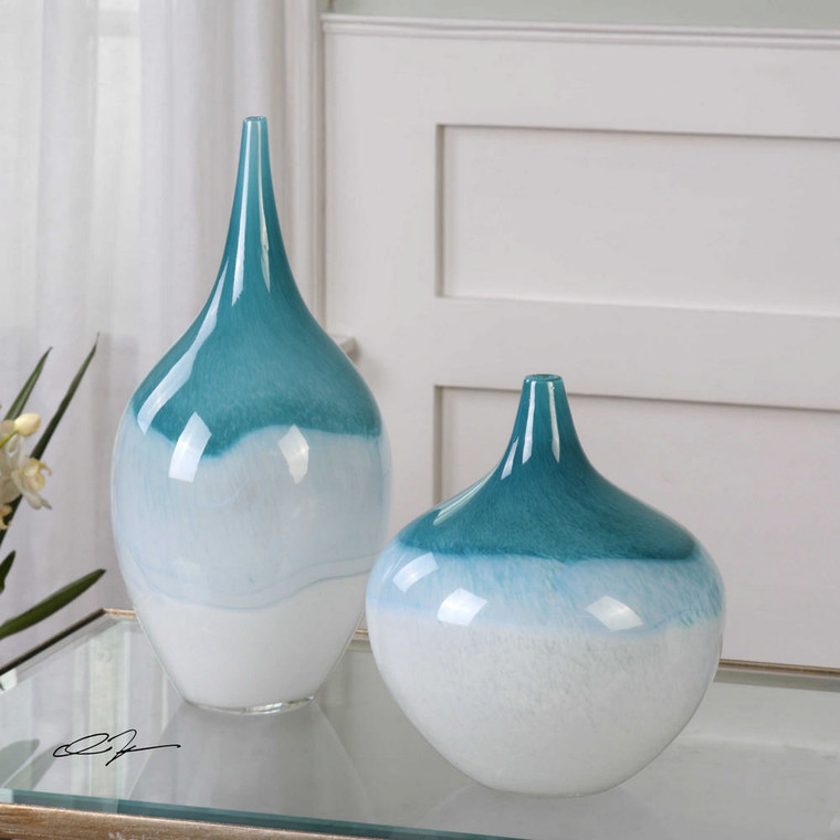 Carla Vases S/2 by Uttermost