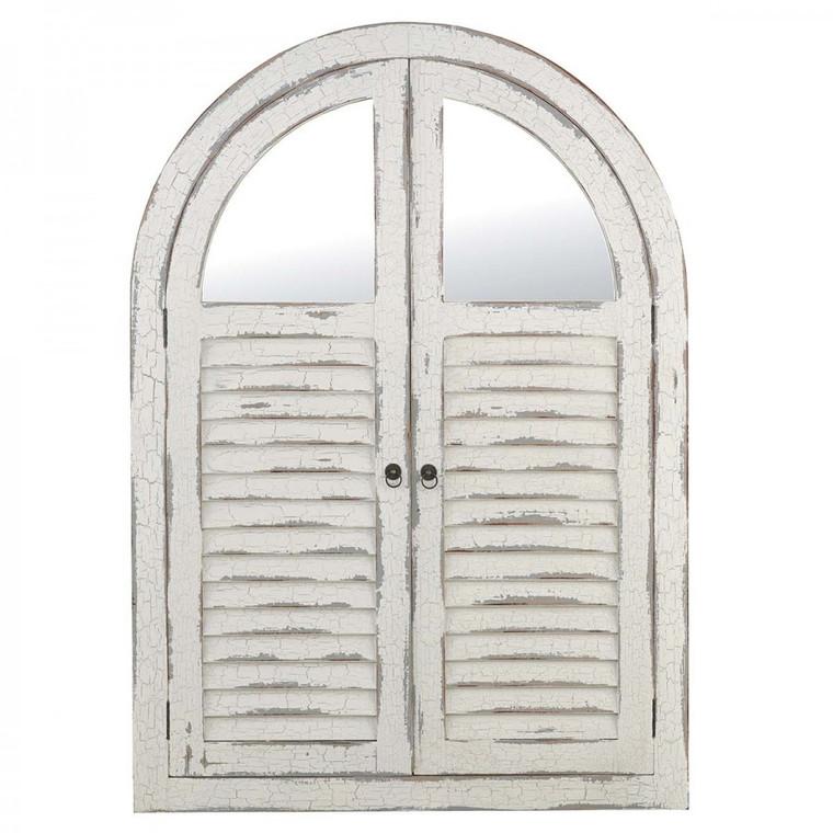 Shutter Mirror w/ Doors - Size: 157H x 111W x 5D (cm)