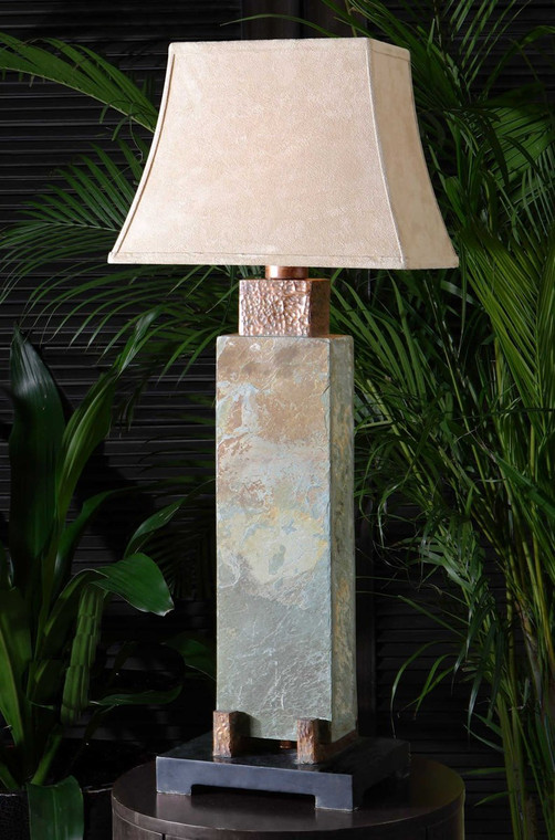 Slate Tall Table Lamp by Uttermost