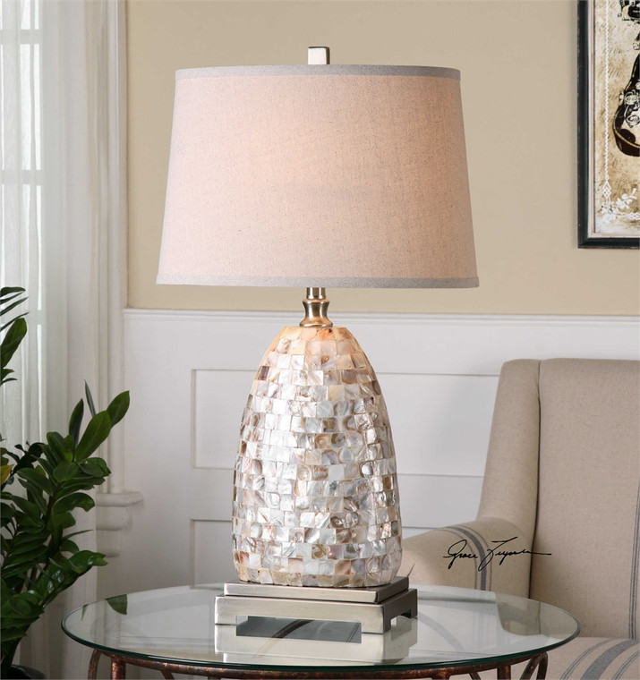 Capurso Table Lamp - by Uttermost