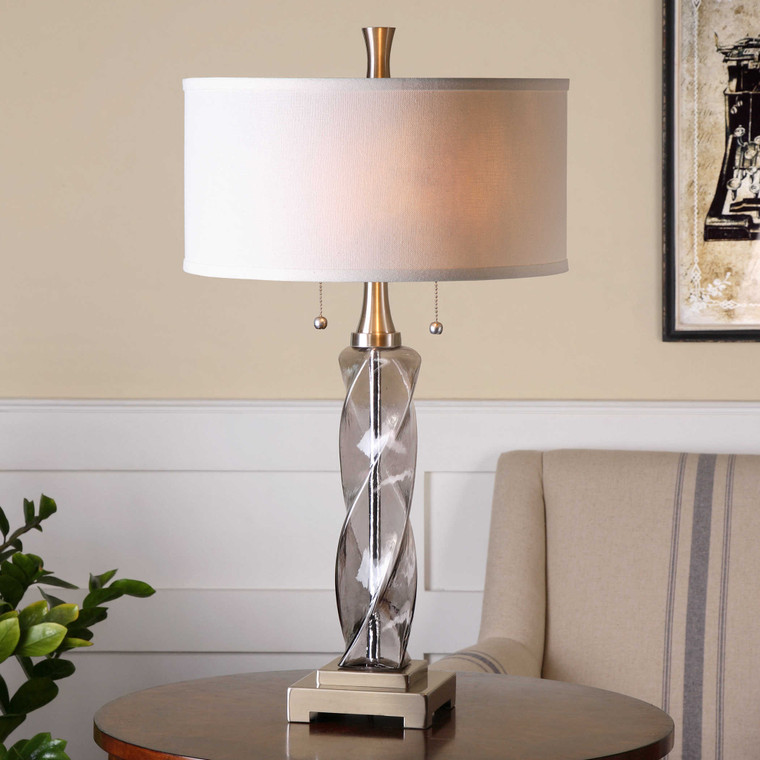 Spirano Table Lamp by Uttermost