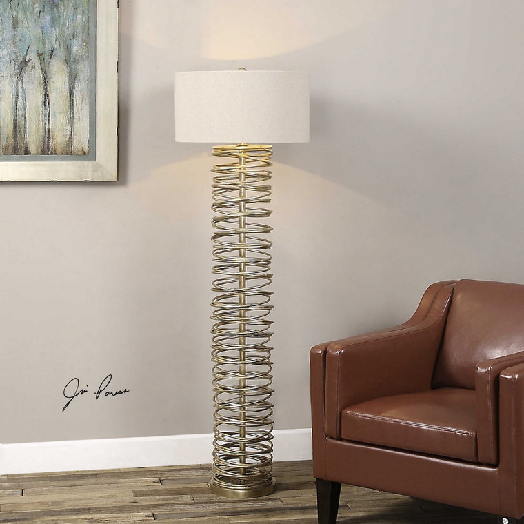 Amarey Floor Lamp by Uttermost