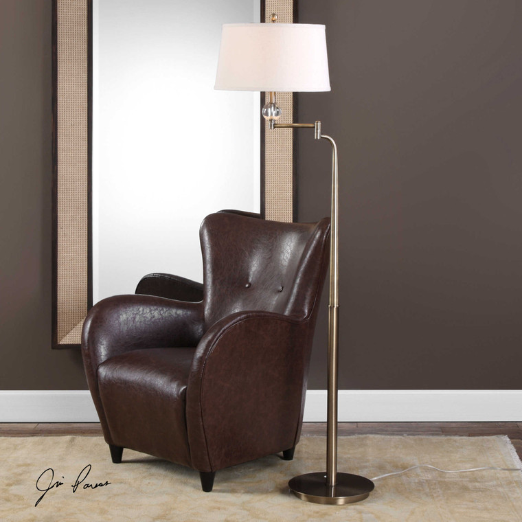 Melini Floor Lamp by Uttermost
