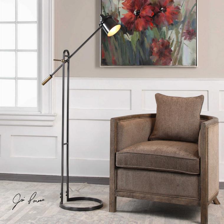 Chisum Floor Lamp by Uttermost