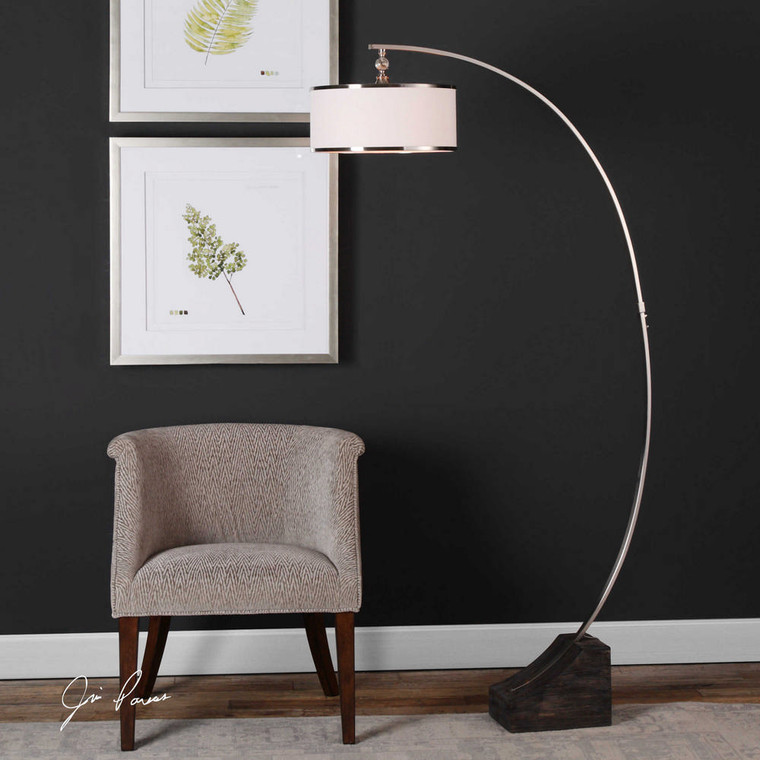 Kelcher Floor Lamp by Uttermost