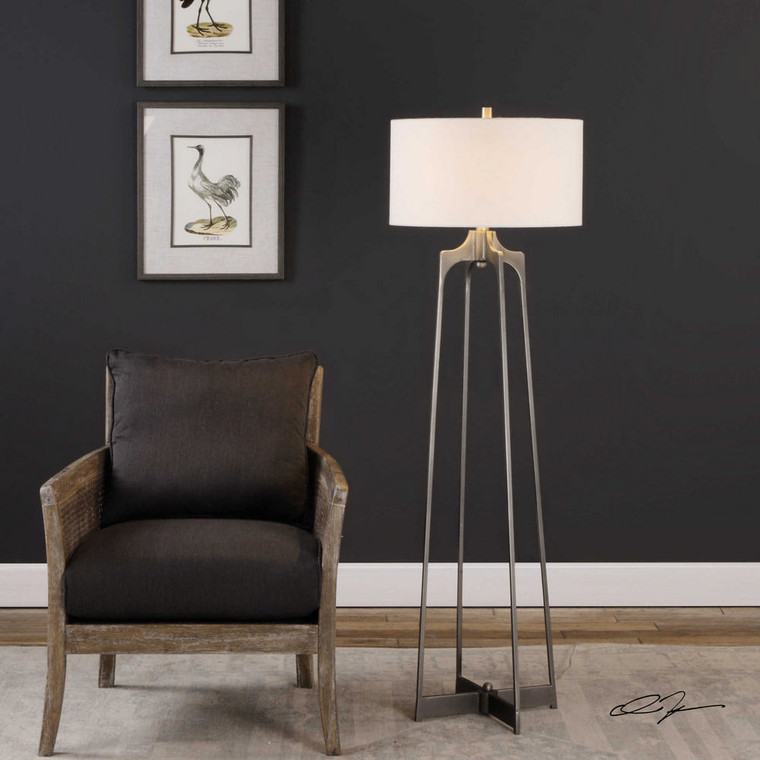 Adrian Floor Lamp by Uttermost