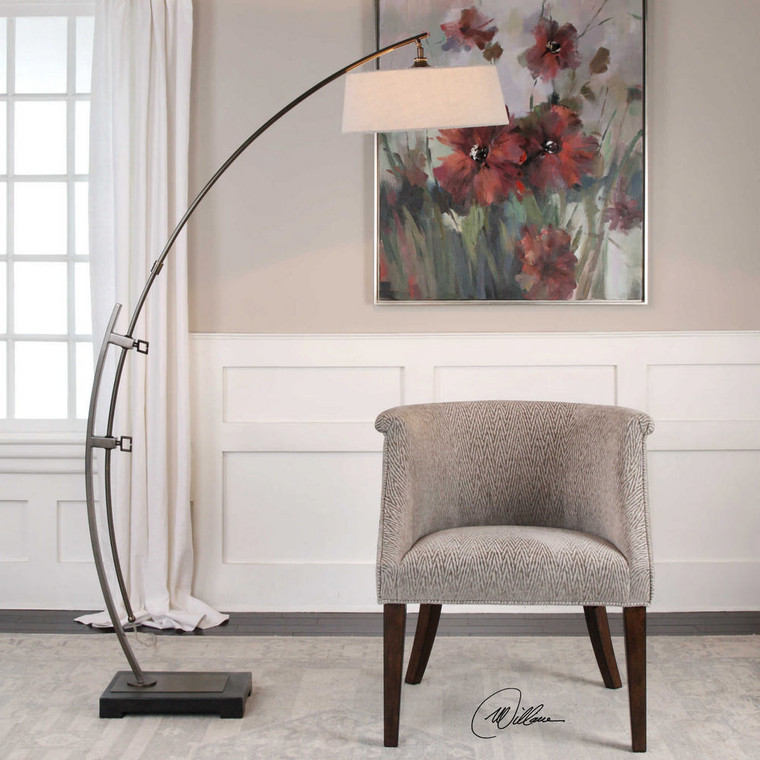 Calogero Floor Lamp by Uttermost