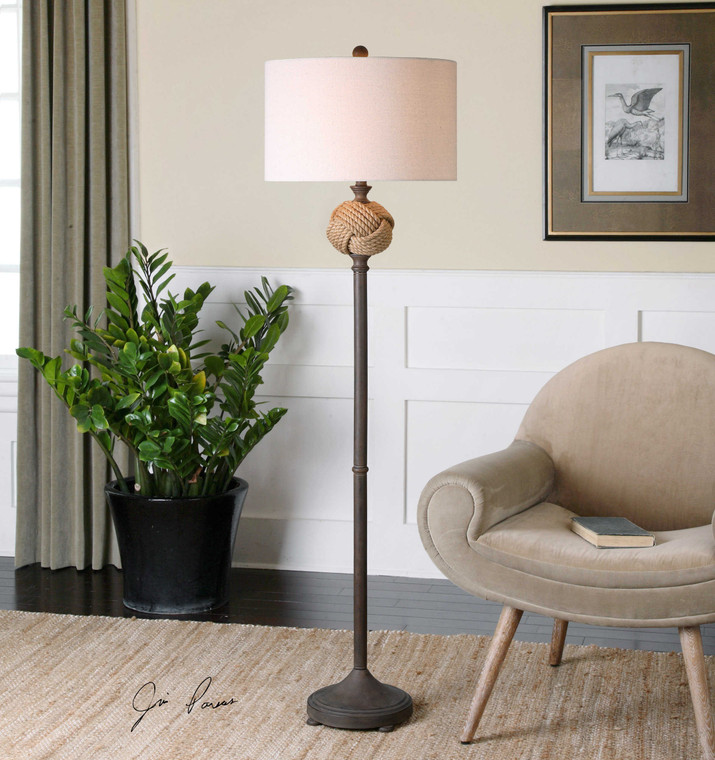 Higgins Floor Lamp by Uttermost