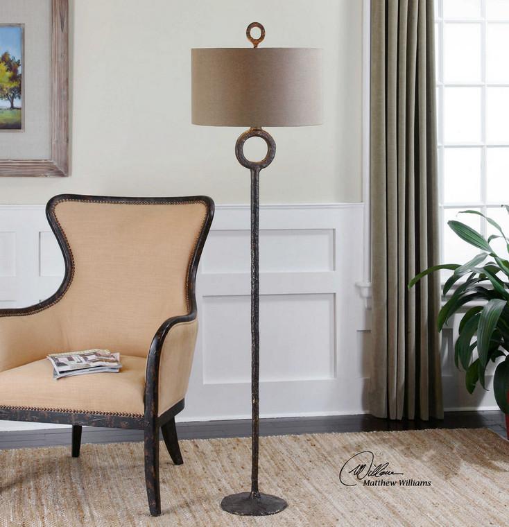 Ferro Floor Lamp by Uttermost
