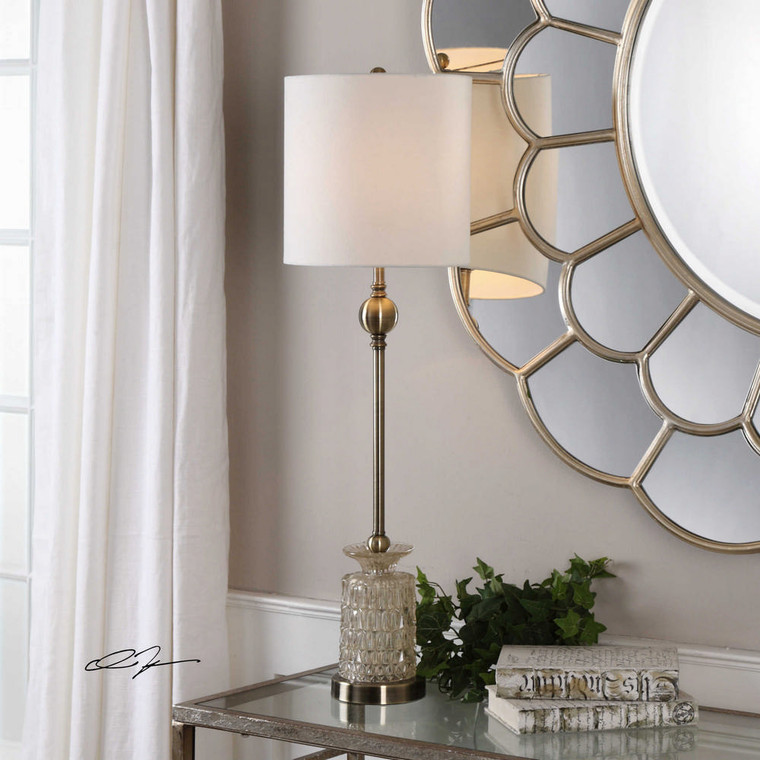 Flaviana Buffet Lamp by Uttermost