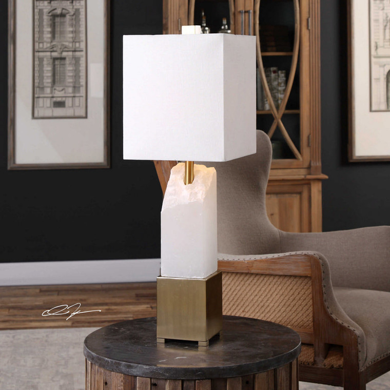 Ebena Accent Lamp by Uttermost