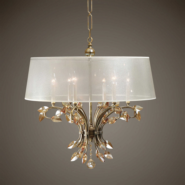 Alenya 6 Lt. Chandelier by Uttermost