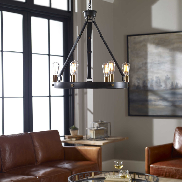 Marlow 6 Lt. Chandelier by Uttermost