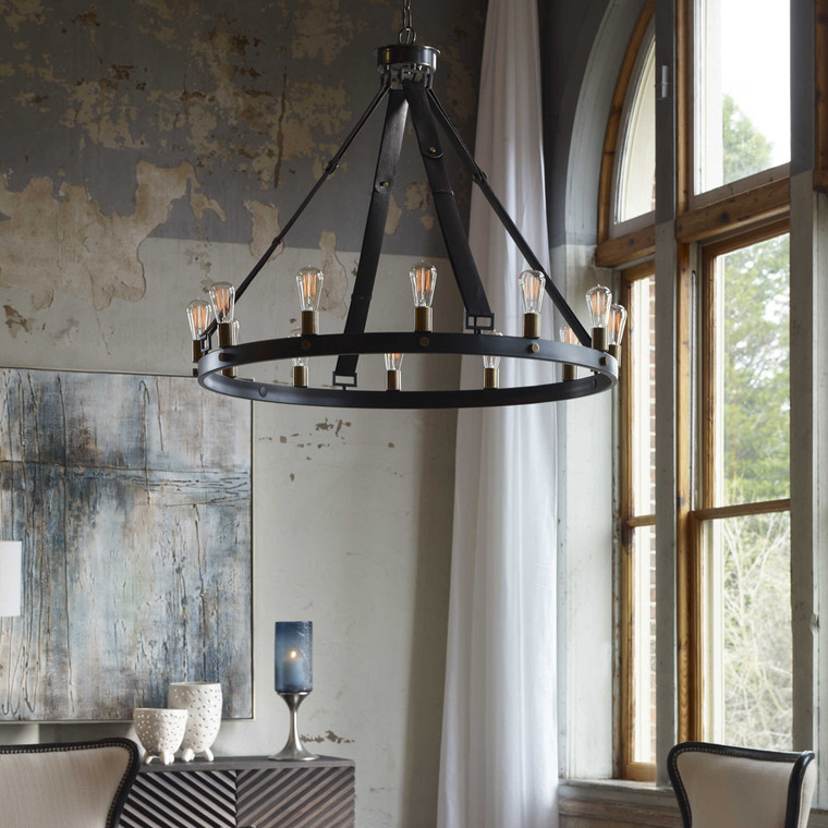 Marlow 12 Lt. Chandelier by Uttermost