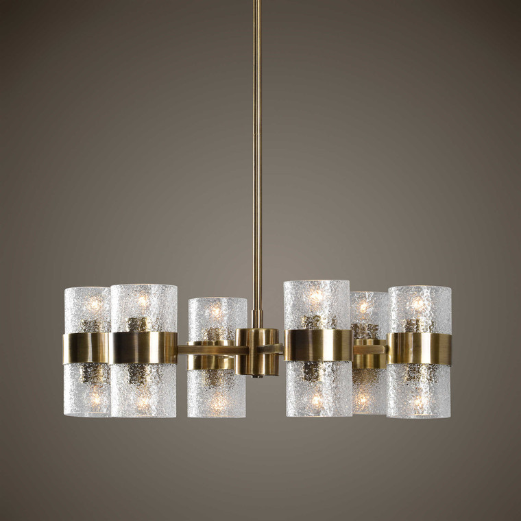 Marinot 12Lt. Chandelier by Uttermost