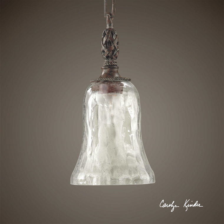 Galeana 1 Lt Mini Pendant by Uttermost