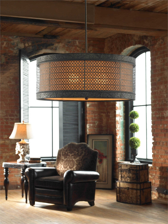 New Orleans 3 Lt Pendant - by Uttermost