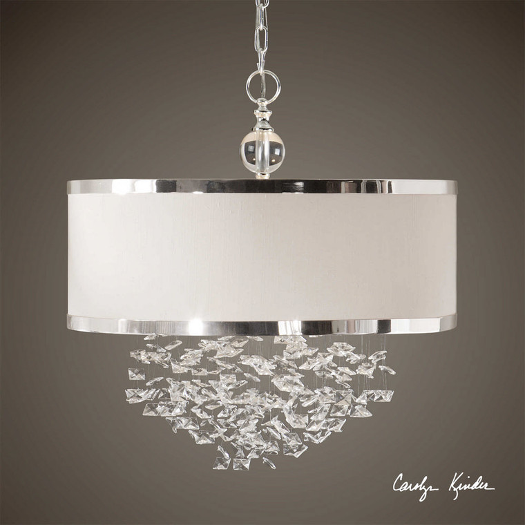 Fascination 3 Lt Hanging Shade by Uttermost